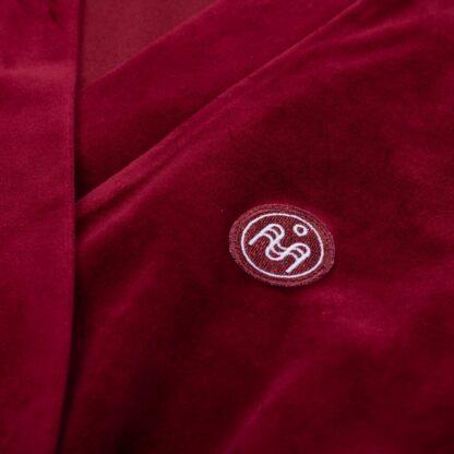 SNA31002-naiste-hommikumantel-punane-detail-2