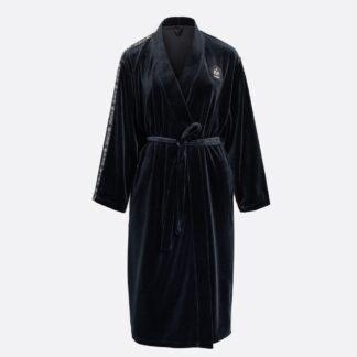 SNA31003-naiste-must-sametist-hommikumantel